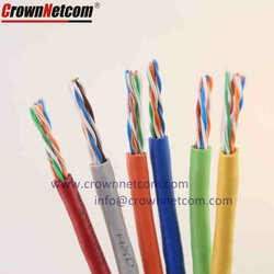 Cat6 Network Cable 23awg UTP STP Category 6 Cables from CROWN NETCOM TECHNOLOGY LTD