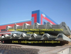 Corrugated steel sheet supplier in UAE from DANA GROUP UAE-OMAN-SAUDI