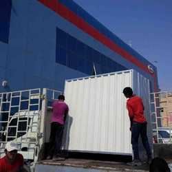 Fencing panels and steel sheets with installation  from DANA GROUP UAE-OMAN-SAUDI
