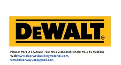 Dewalt Tools In Abudhabi, Musaffah from CLEAR WAY BUILDING MATERIALS TRADING
