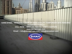 Fence Boundary Wall Hoarding Supplier Installation uae  from DANA GROUP UAE-OMAN-SAUDI