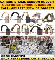 industrial carbon brush spring Dealer Supplier in Dubai Abu Dhabi Ajman UAE from AMIR INDUSTRIAL EQUIPMENTS