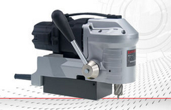 Low profile Magnetic drilling-threading machine up to ø 35 mm