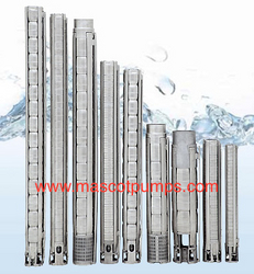 Stainless Steel Submersible pumps from MASCOT PUMPS LTD
