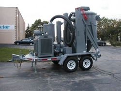 RENTAL OF INDUSTRIAL VACUUM