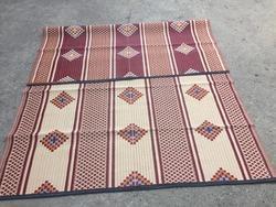 6x9 Cross Jacquard Designed Mats from SHAMALI POLYMATS