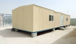 Portacabin in Djbouti Africa from GHOSH METAL INDUSTRIES LLC