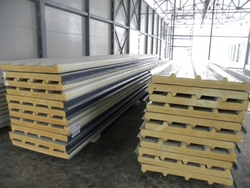 PU From Sandwich Panel In Gabon from GHOSH METAL INDUSTRIES LLC