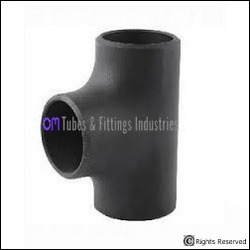 CARBON STEEL BRANCH TEE from OM TUBES & FITTING INDUSTRIES