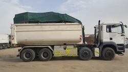 Green Net heavy duty Tarpaulins for Trailers in UAE from ECO SENSE GENERAL CONTRACTING