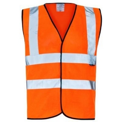 Supertouch® Hi-vis Waistcoat - Orange from ARASCA MEDICAL EQUIPMENT TRADING LLC