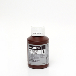 Betadine bottle from AVENSIA GENERAL TRADING LLC