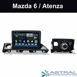 China Exporter InDash Infotainment System Mazda 6 Atenza Central Entertainment Player from ASTRAL ELECTRONICS TECHNOLOGY CO.,LTD