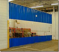 PVC Vinyl Industrial Curtain Walls in UAE from SPARK TECHNICAL SUPPLIES FZE