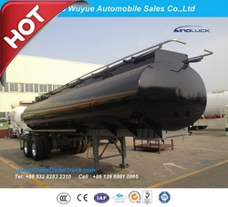 Fuel Tank Semi Trailer or Tanker Semi Truck Trailer from QINGDAO WUYUE AUTOMOBILE SALES CO.,LTD