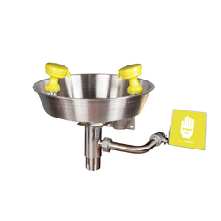 Wall Mounted Eyewash from REUNION SAFETY EQUIPMENT TRADING