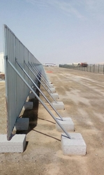 Concrete Fencing Blocks supplier in Sharjah-UAE