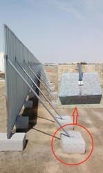 Concrete Fence Block manufacturer in Abu Dhabi from DUCON BUILDING MATERIALS LLC