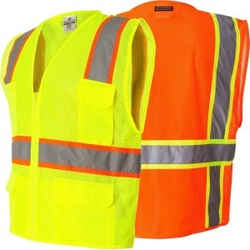 Safety Vests from REUNION SAFETY EQUIPMENT TRADING