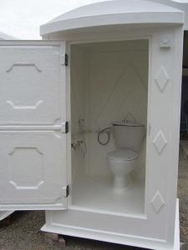 GRP - WESTERN TOILETS from KAZEMA PORTABLE TOILETS