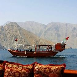 Musandam dhow cruise from KHASAB SEA TOURS