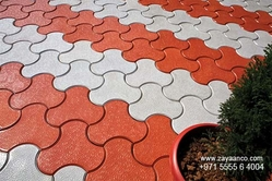 Interlocking paver blocks in dubai from ZAYAANCO