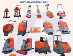 Roots Walk Behind Floor Scrubbing Machines UAE