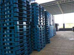 1200*1000 heavy duty steel reinforced durable pallet plastic load capacity