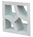 Concrete claustra block suppliers in Oman from ALCON CONCRETE PRODUCTS FACTORY LLC