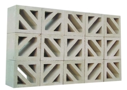 Concrete claustra block supplier in Saudi Arabia from ALCON CONCRETE PRODUCTS FACTORY LLC