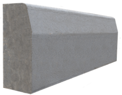 Concrete kerbstone supplier in Abu Dhabi from ALCON CONCRETE PRODUCTS FACTORY LLC
