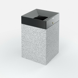 Concrete litter bin supplier in UAE