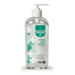 St John Ambulance hand sanitizer- 240ml from ARASCA MEDICAL EQUIPMENT TRADING LLC