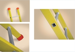 STRAIGHT FIBER GLASS LADDERS from AL BAWADI METAL INDUSTRIES LLC