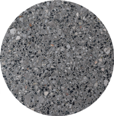 Exposed aggregate pavers (curled) - DC 277
