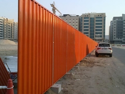 Corrugated Sheet Fence Panel