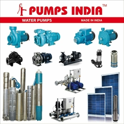 Water Pumps, Submersible Pumps and Motors.