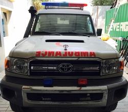 Toyota Landcruiser Hard Top VDJ 78L Ambulance from DAZZLE UAE