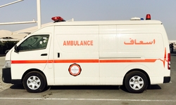 Ambulance Toyota Hiace High Roof Diesel  from DAZZLE UAE