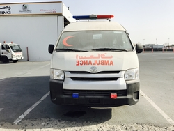 Totota Hiace High Roof Ambulance  from DAZZLE UAE
