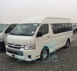 Toyota Hiace High Roof  Van from DAZZLE UAE
