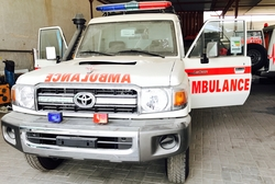 Toyota Land Cruiser Hard Top VDJ78L-RJMRYV-1D-HD2 Ambulance   from DAZZLE UAE