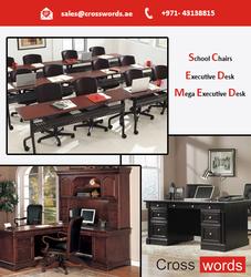 Regular Office Desk from CROSSWORDS GENERAL TRADING LLC