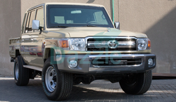 Armored Toyota Land Cruiser GRJ 79 Double Cabin Pickup from DAZZLE UAE