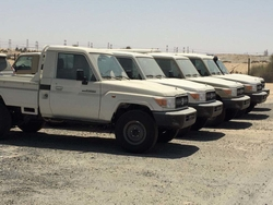 New Cars Toyota Land Cruiser Single Cabin Pickup GRJ 79  from DAZZLE UAE