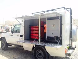 Mobile Workshop Toyota Land Cruiser Pickup from DAZZLE UAE