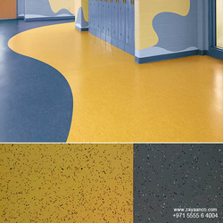 ANTISTATIC VINYL FLOORING FOR HOSPITAL from ZAYAANCO