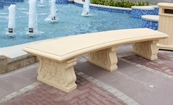 Precast concrete bench manufacturer in UAE from ALCON CONCRETE PRODUCTS FACTORY LLC