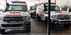 VDJ78L Hardtop Ambulance UAE from DAZZLE UAE