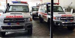 VDJ78L Hardtop Ambulance UAE from DAZZLE UAE